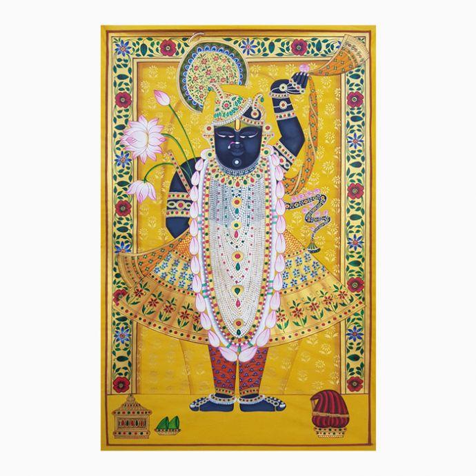 Shrinathji Rajbhog Swaroop