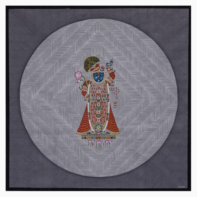 Shrinathji  Monochrome