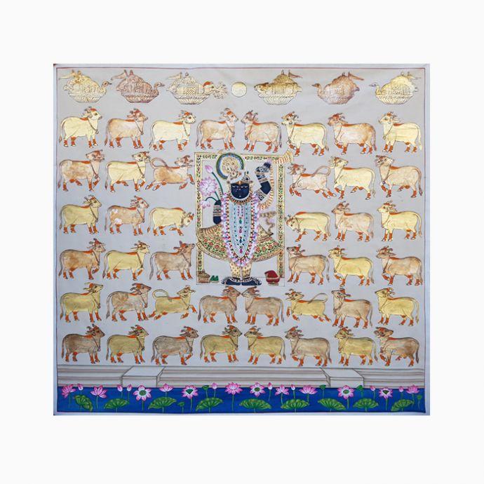 Shyam Mandala Pichwai Painting