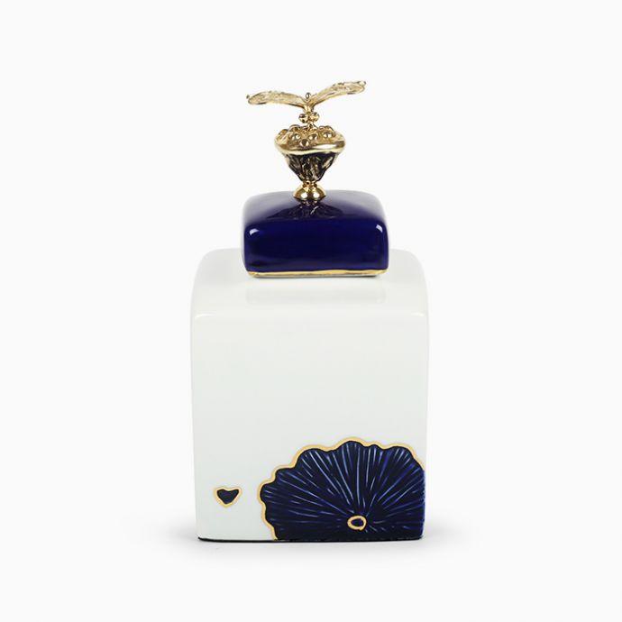 Blue Dasher Jar - Small