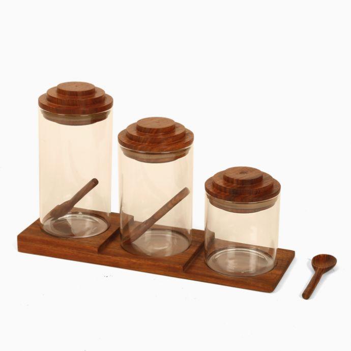 Staircase Jar Set