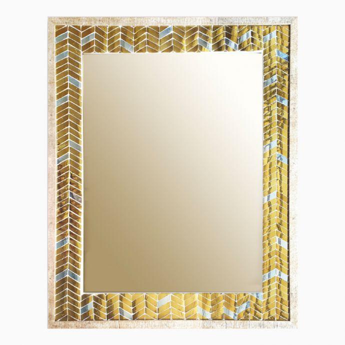 The 'Trikone' Wall Mirror