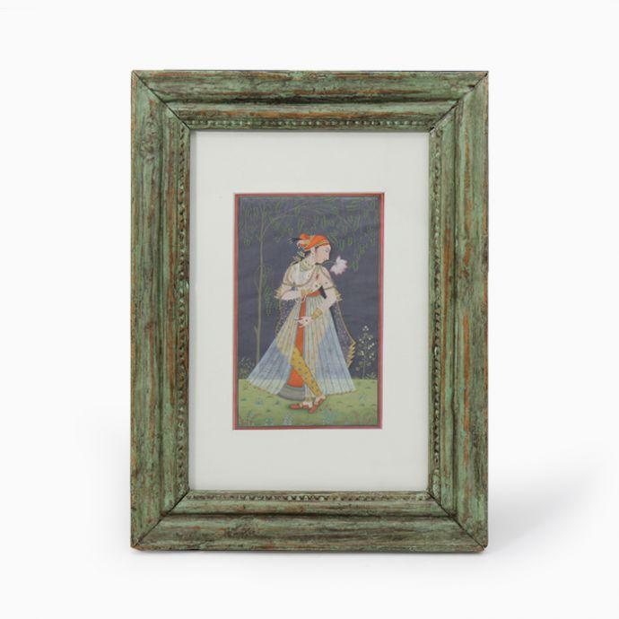 Mughal Miniature Artwork (With Frame)