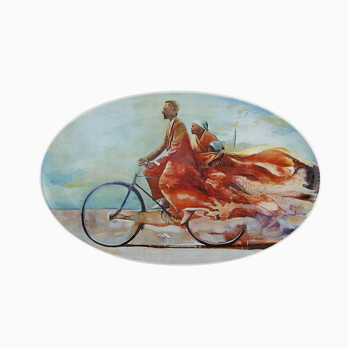 Oval Platter Emergência - Pedalando