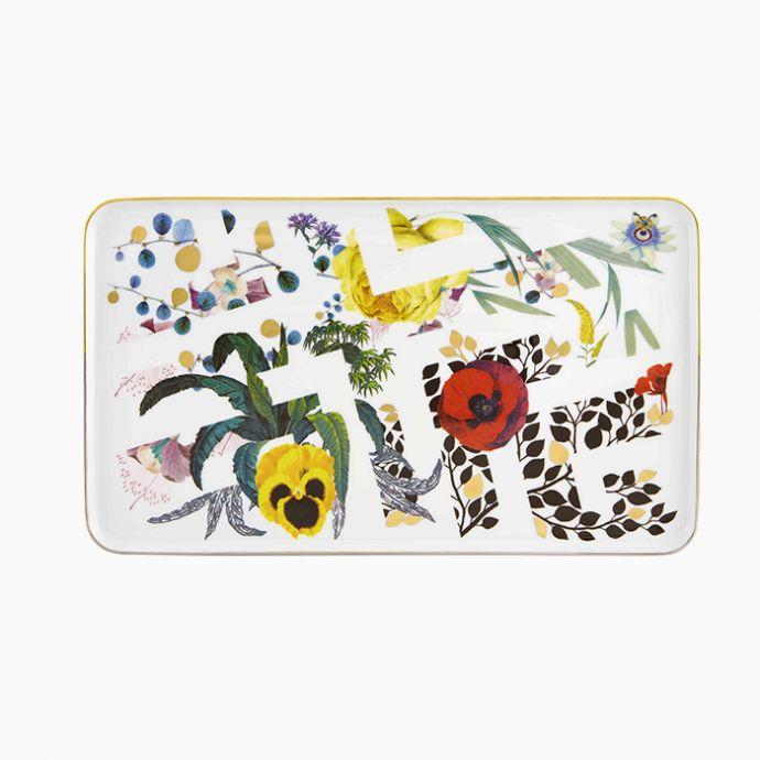 Small Rectangular Platter - Primavera