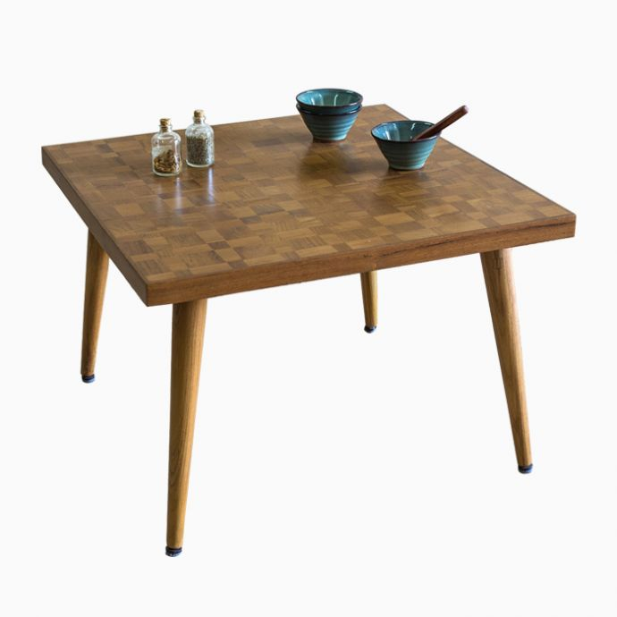 Wooden Mosaic Table