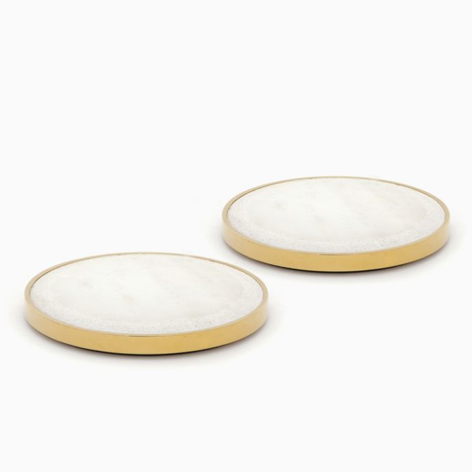 Yang Candle Plates (set of two)