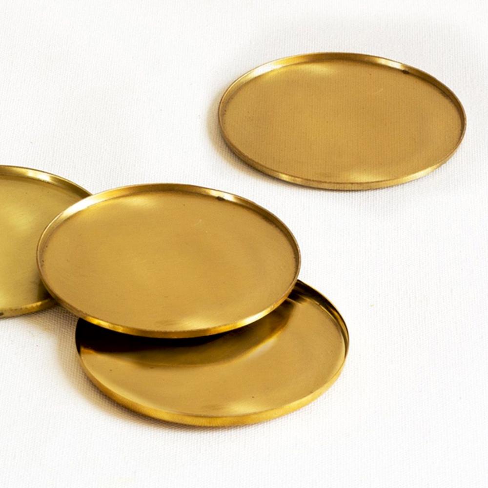 Brass Coasters