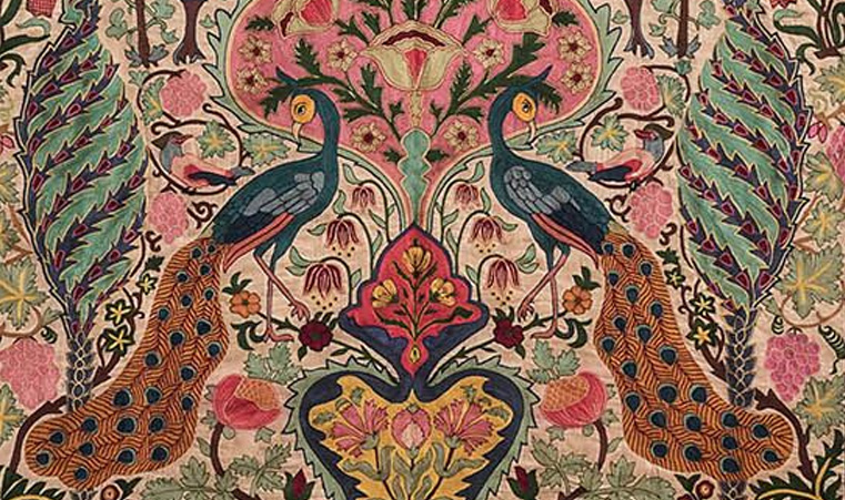 Epochal props: Thehouseofthings tells you why antique embroidered tapestries are a must-have.